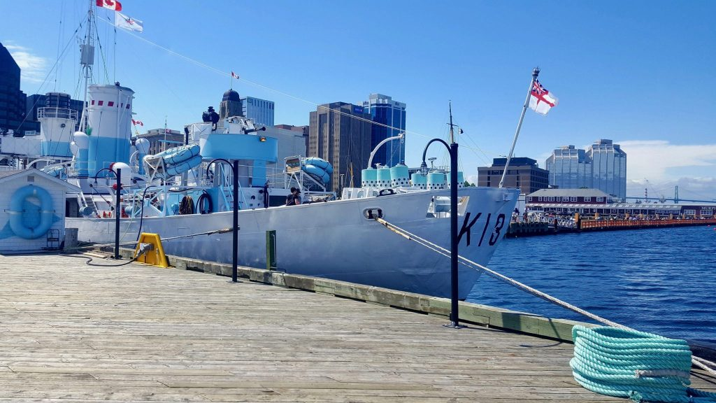 HMCS Sackville is now a museum ship that makes a great thing to do in Halifax on a budget