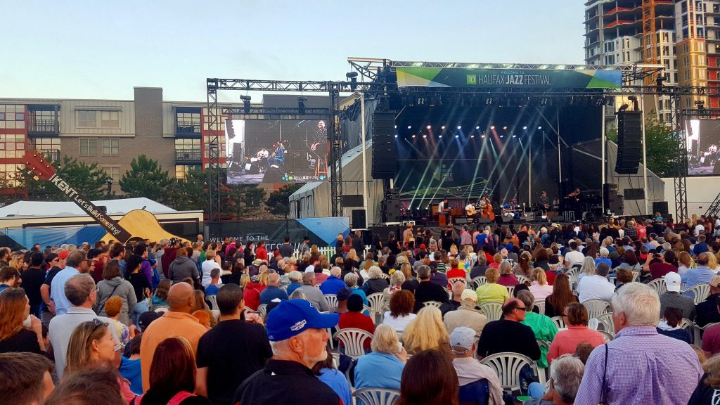 Halifax Jazz Festival is a popular free summer event