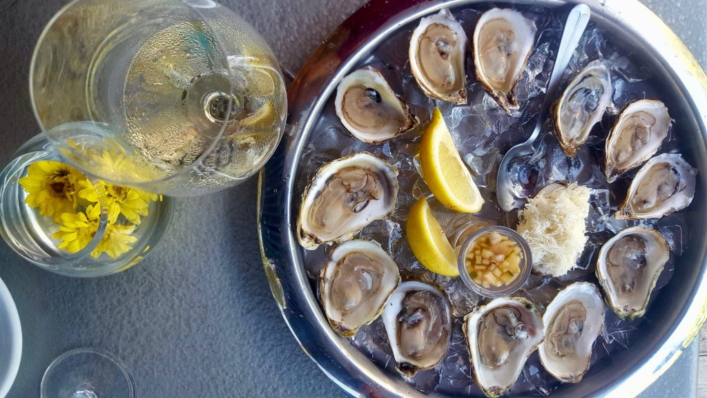 Oyster Happy Hour at Five Fishermen Halifax Little Fish is a cheap seafood deal in Halifax