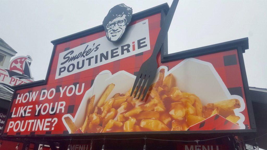 Smokes Poutinerie is a great place to try poutine in Halifax