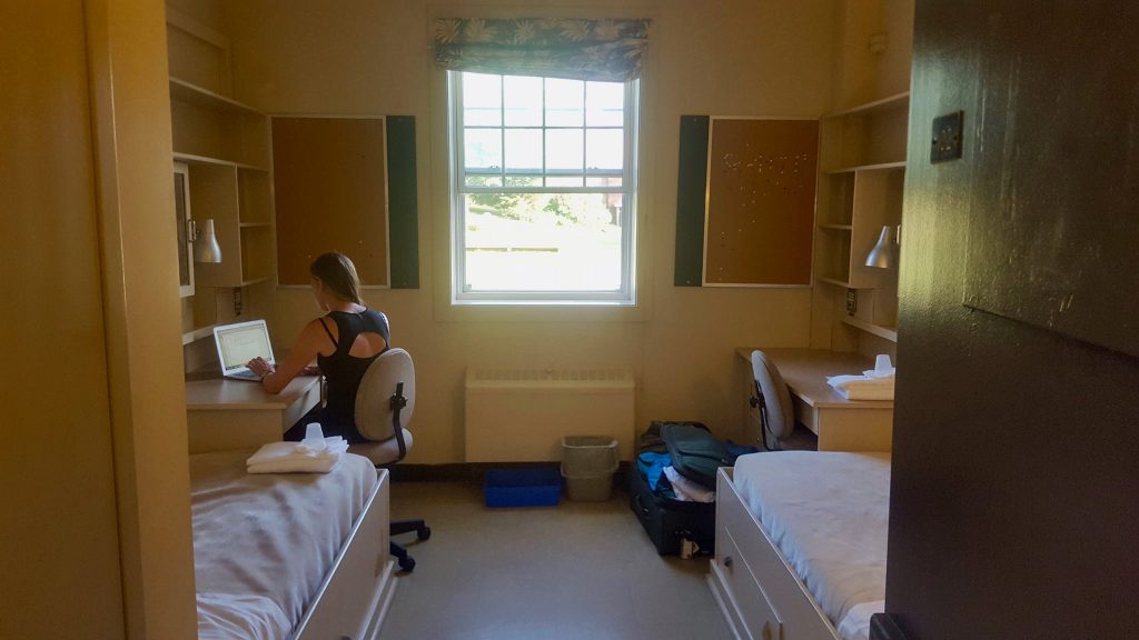 Budget accommodation on a University in Nova Scotia