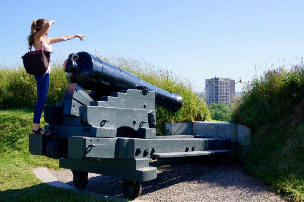 Halifax Citadel cannon