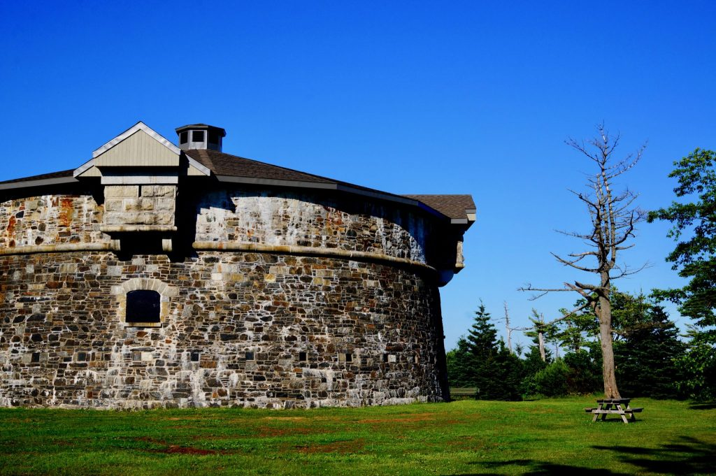 Prince of Wales Tower in Point Pleasant Park Halifax