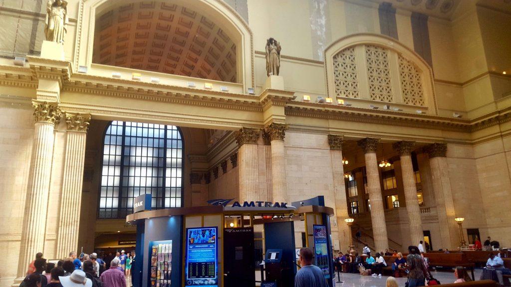 Inside Amtrak Union Station Chicago