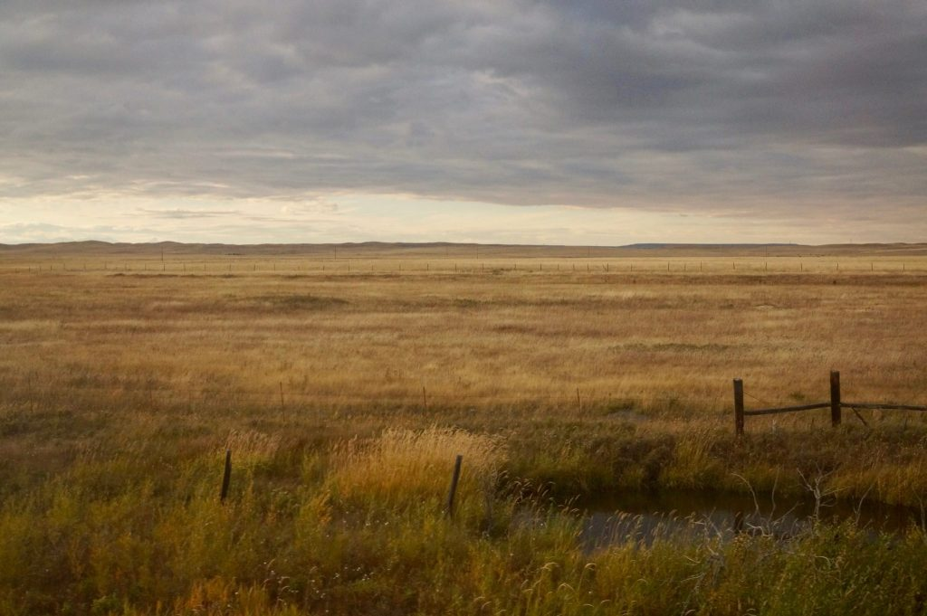 Great plains from Amtrak Empire builder