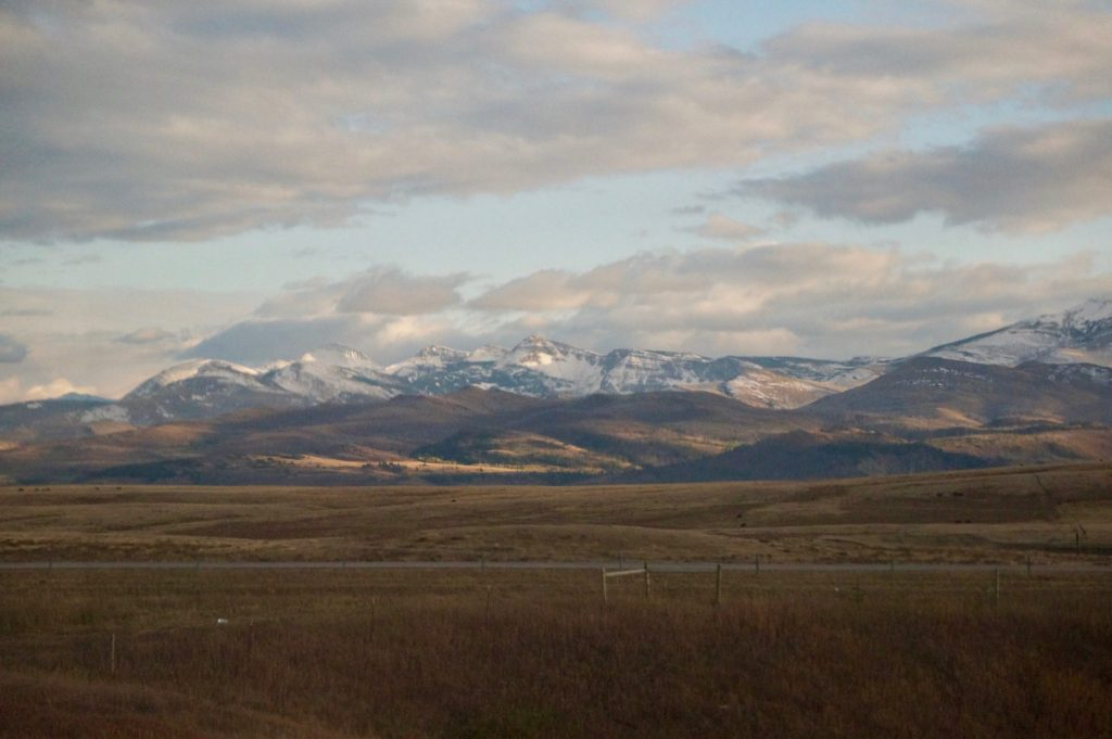 Glacier National Park stop along Empire Buidler