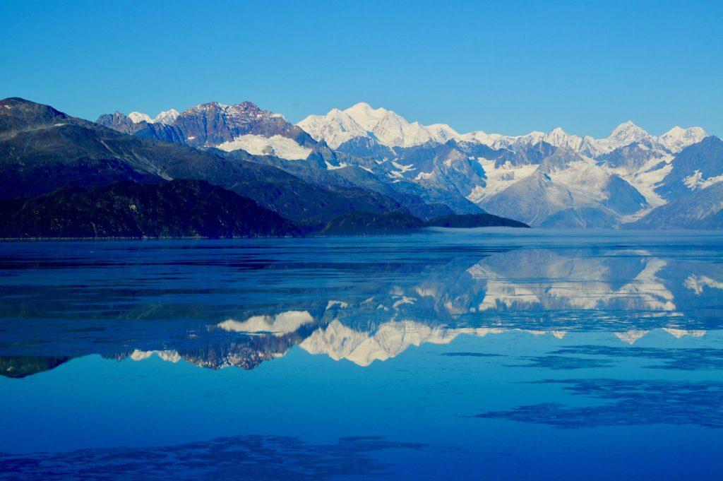 Mount Fairweather Glacier Bay National Park Alaska