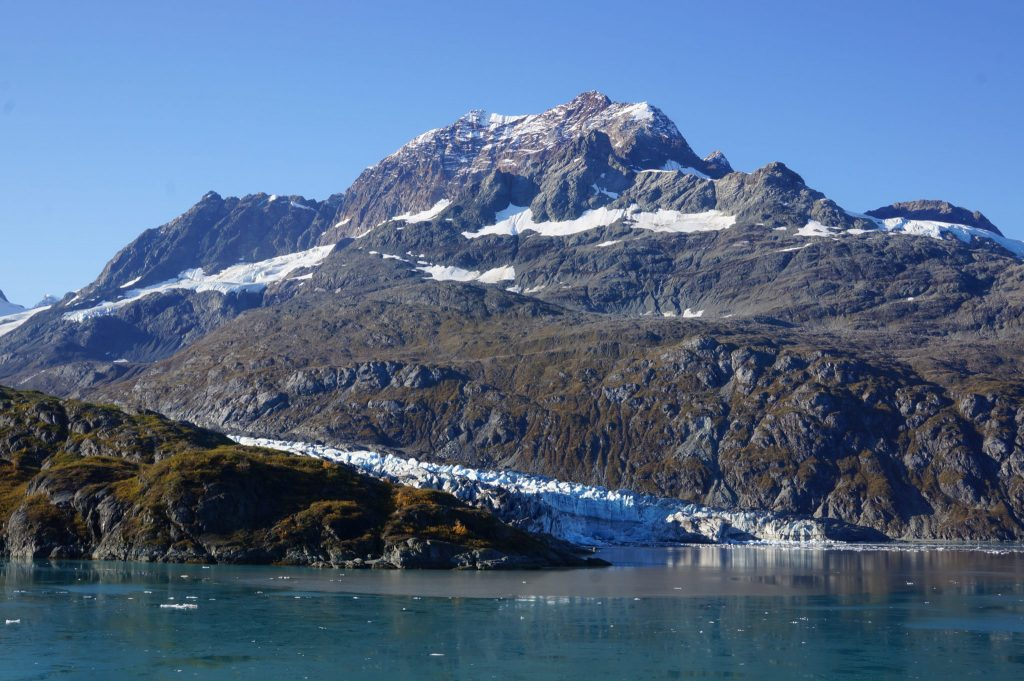 Lamplugh Glacier in Glacier Bay National Park Alaska