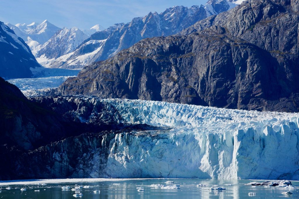 Margerie Glacier in Glacier Bay National Park Alaska