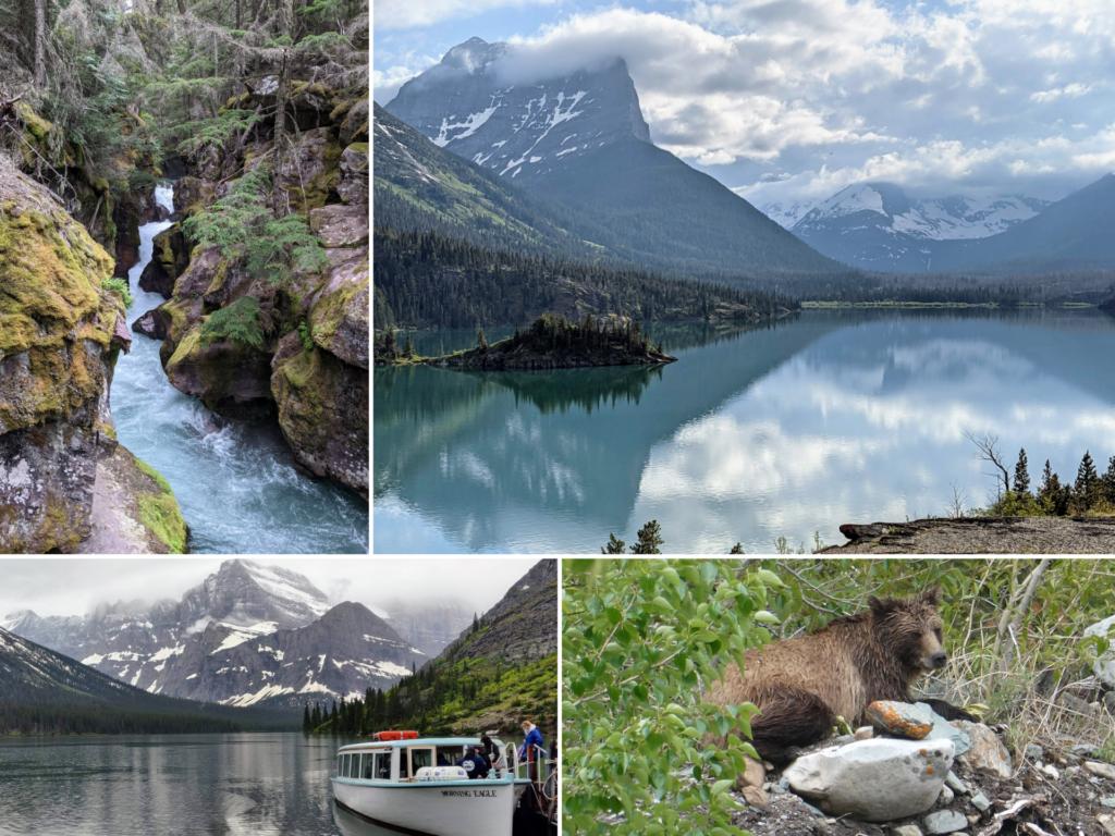 Scenes of Glacier National Park
