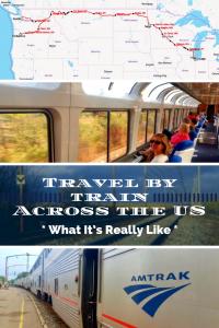 Amtrak Empire Builder Train Across the US
