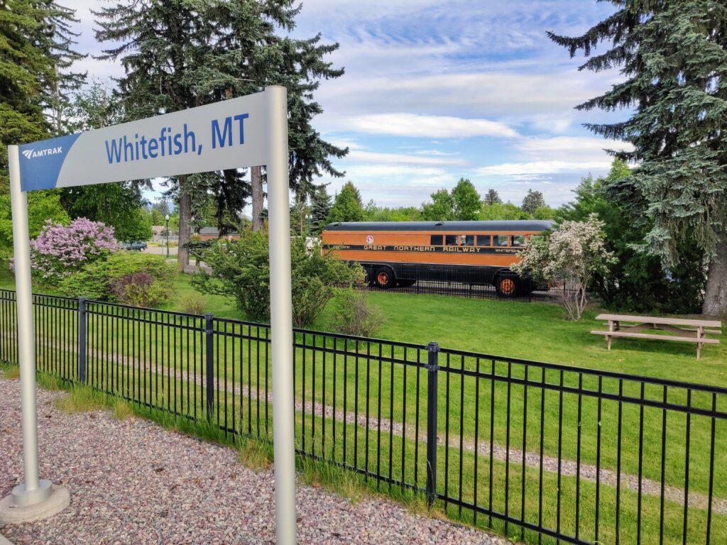 Whitefish Montana Station