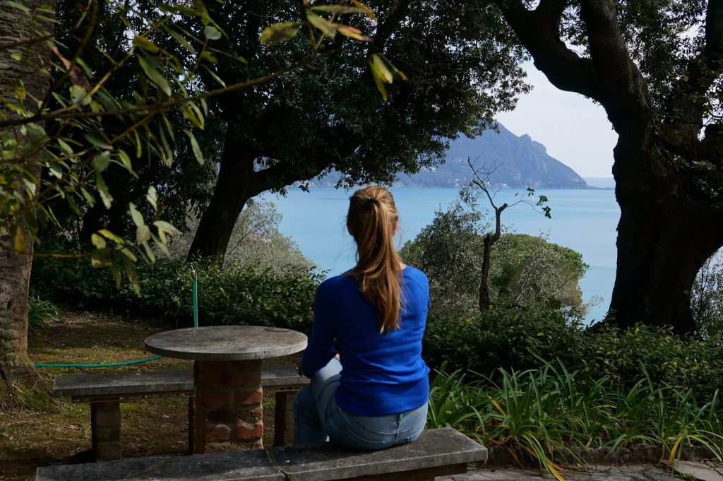 Heather decides where to roam next on the Italian Riviera