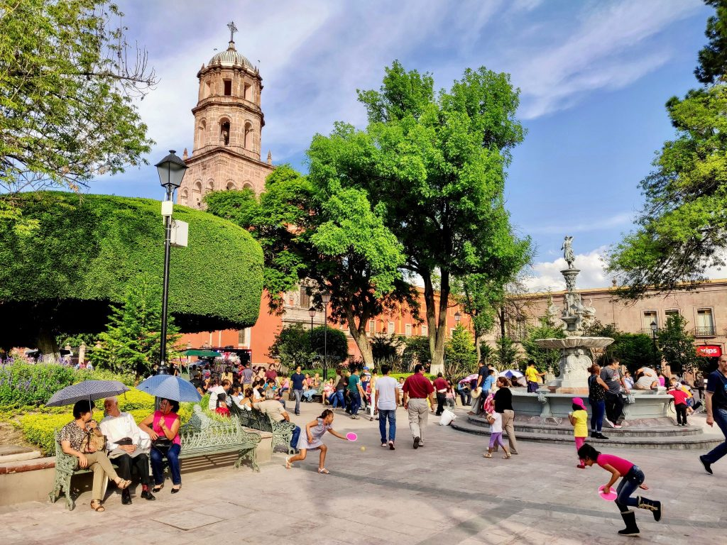 Plaza in Queretaro
