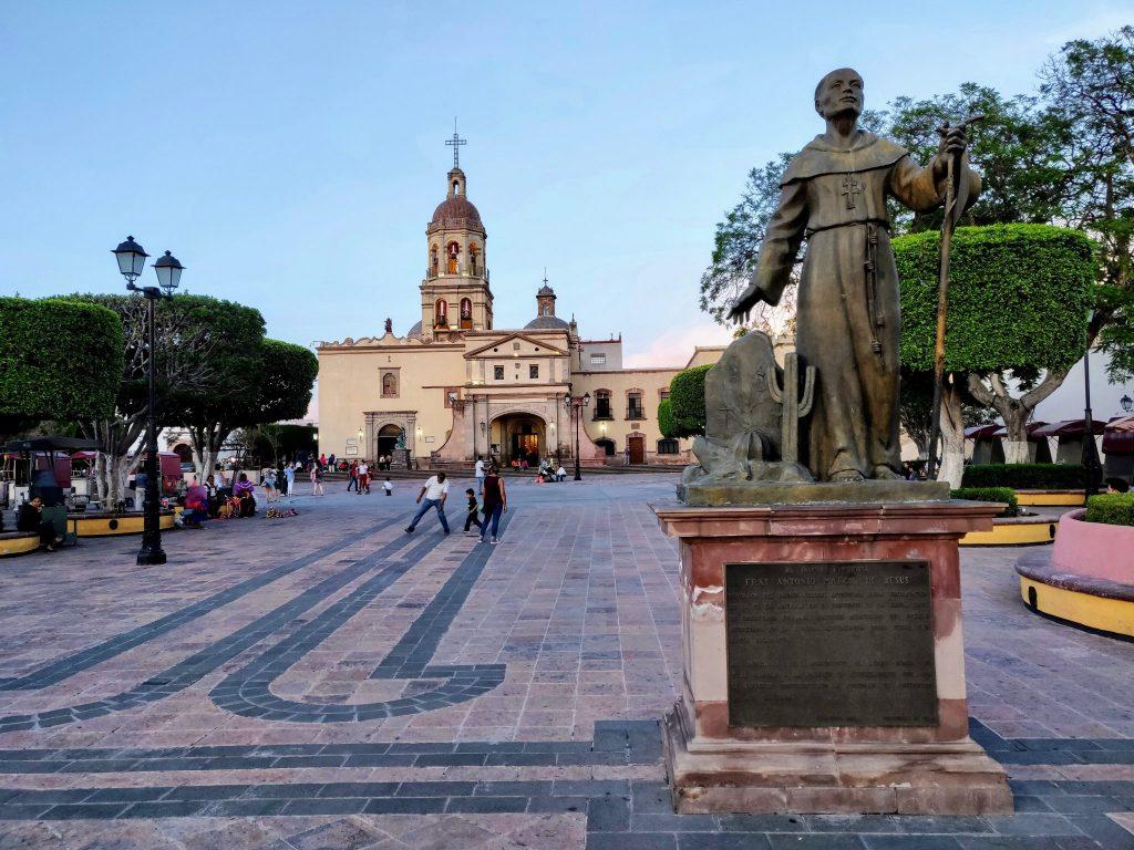 Templo y ex-convento de la Santa Cruz Queretaro Mexico
