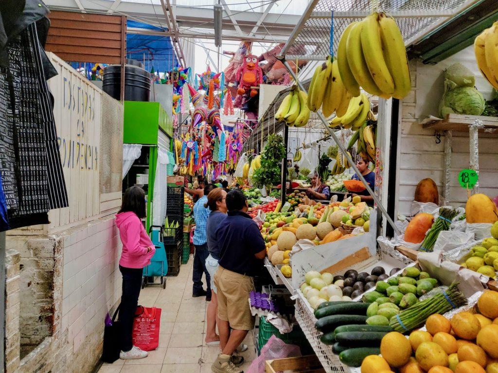 Mercado La Cruz Queretaro