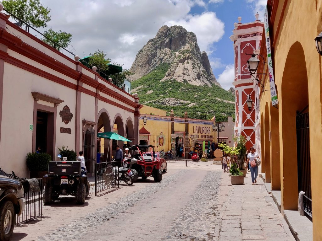 Bernal Mexico is a great day trip from Queretaro
