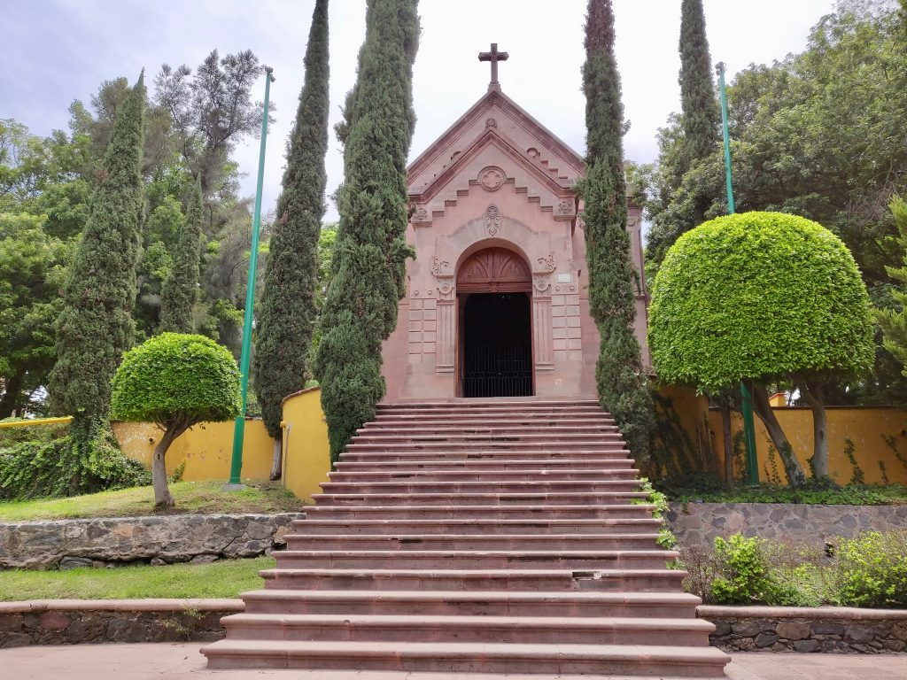 Cerro de las Campanas National Park chapel built by Austria to honor Maximilian I
