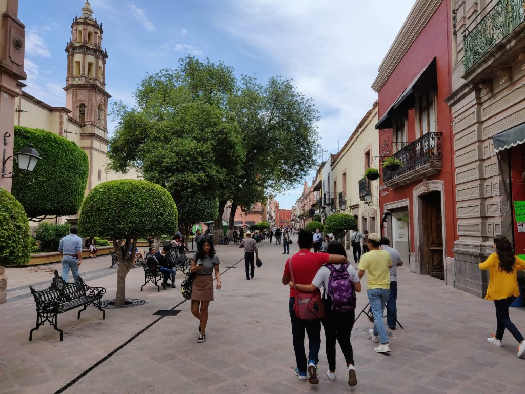 walking around Queretaro historic centro