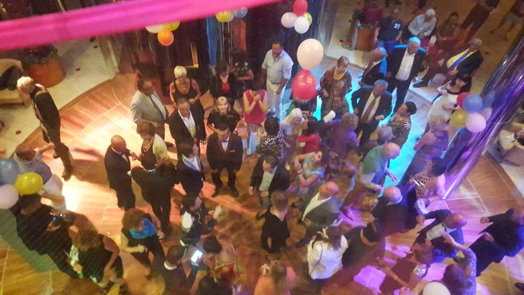 fun party on Costa Victoria cruise