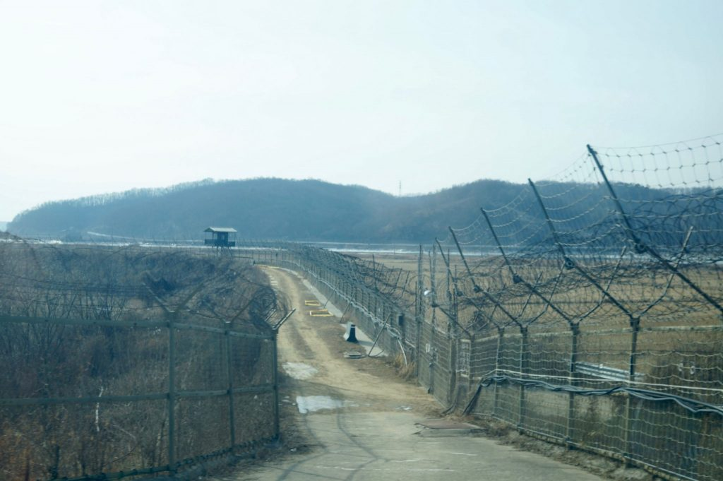barbed wire at DMZ