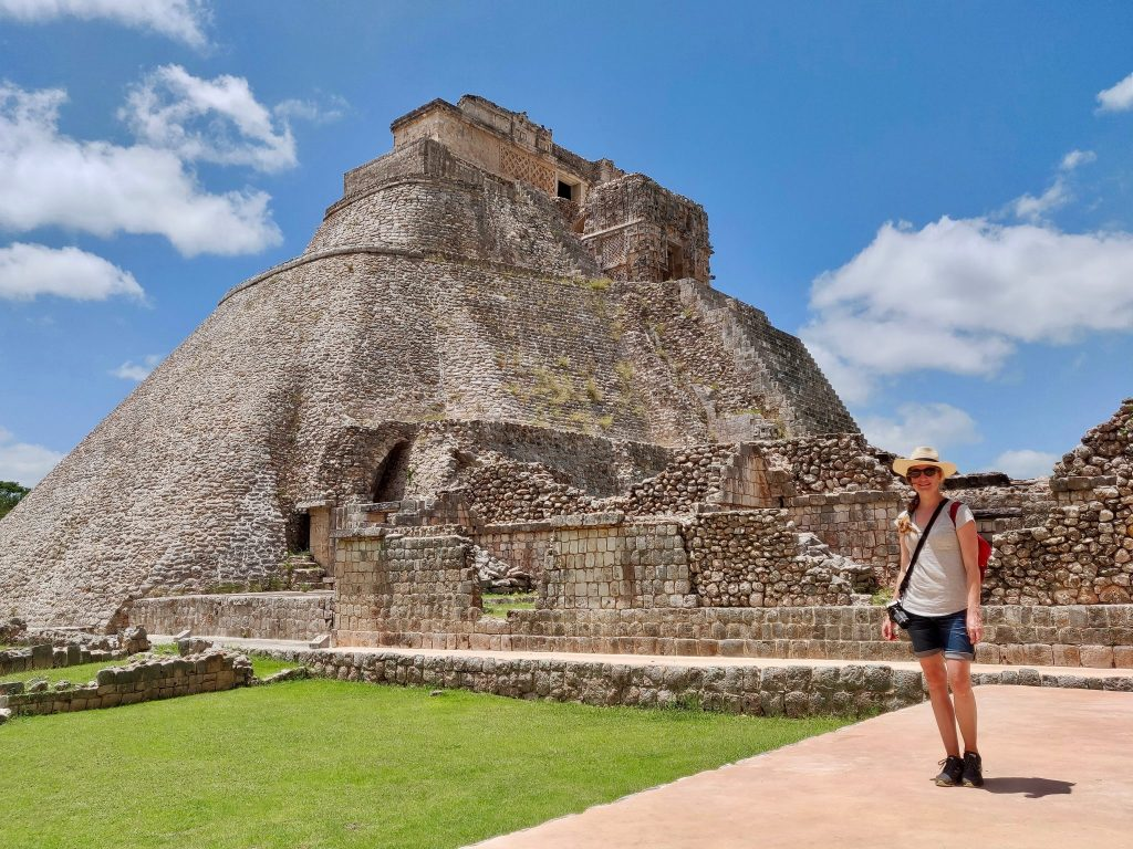 Woman at Uxmal