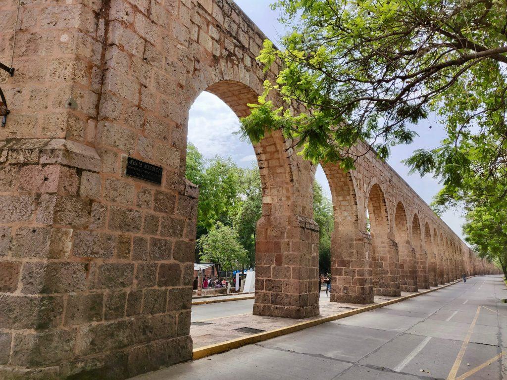 Morelia aqueduct