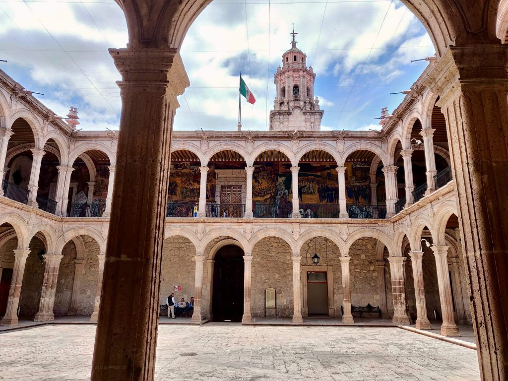 Government Palace Morelia Mexico