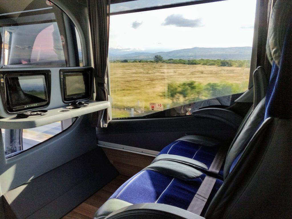 Mexico bus interior