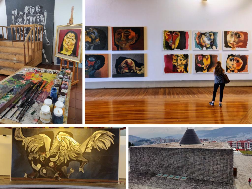 La Capilla Del Hombre is Quito's Guayasamín museum