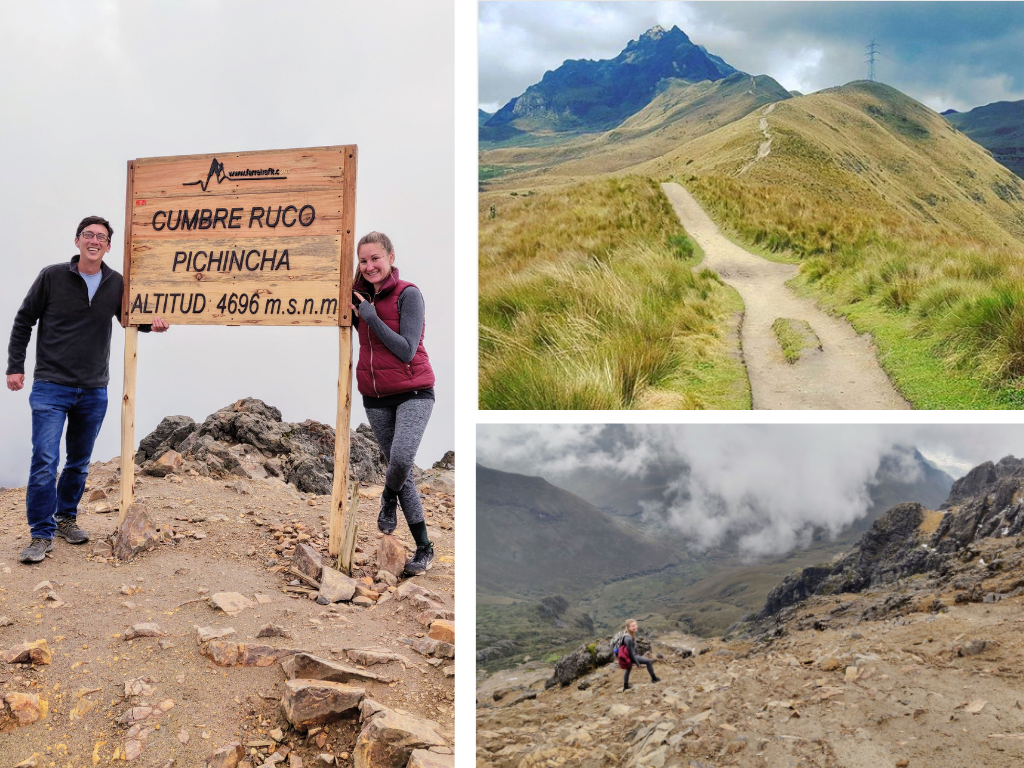 Hiking Rucu Pichincha summit