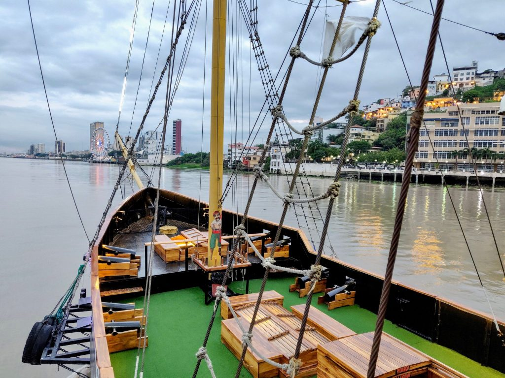 Barco Morgan Pirate Ship River Cruise in Guayaquil Ecuador