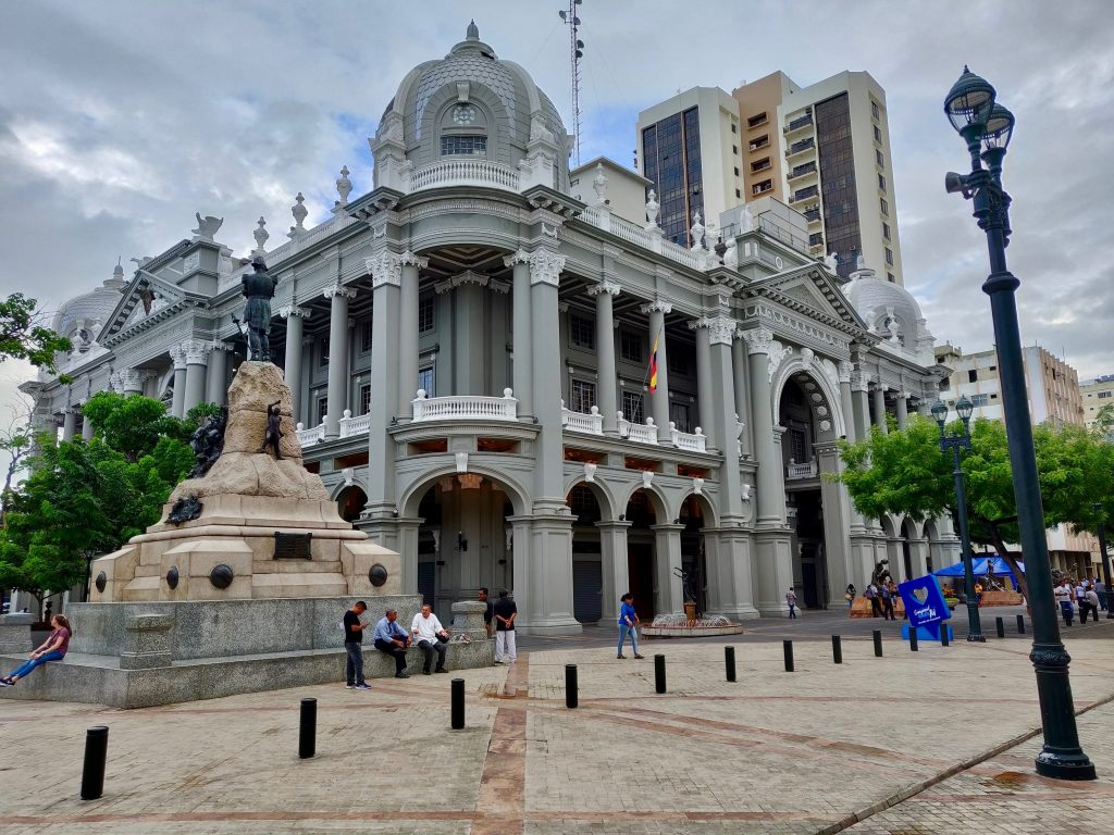 Municipal Palace in downtown Guayaquil