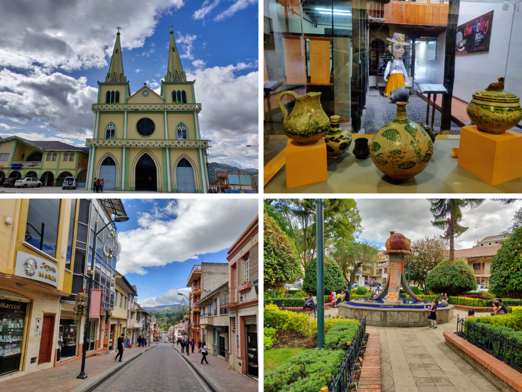 Things to do in Chordeleg: Visit church, shop for crafts, go to central plaza, visit museum