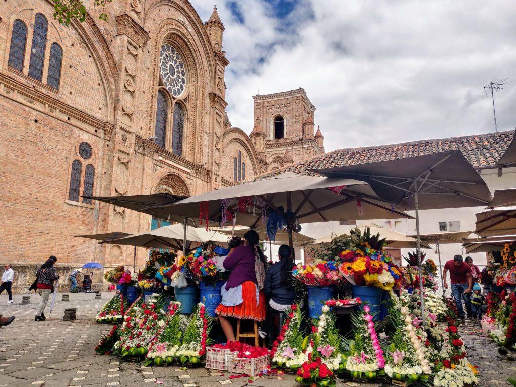 Flower Market Plaza Cuenca