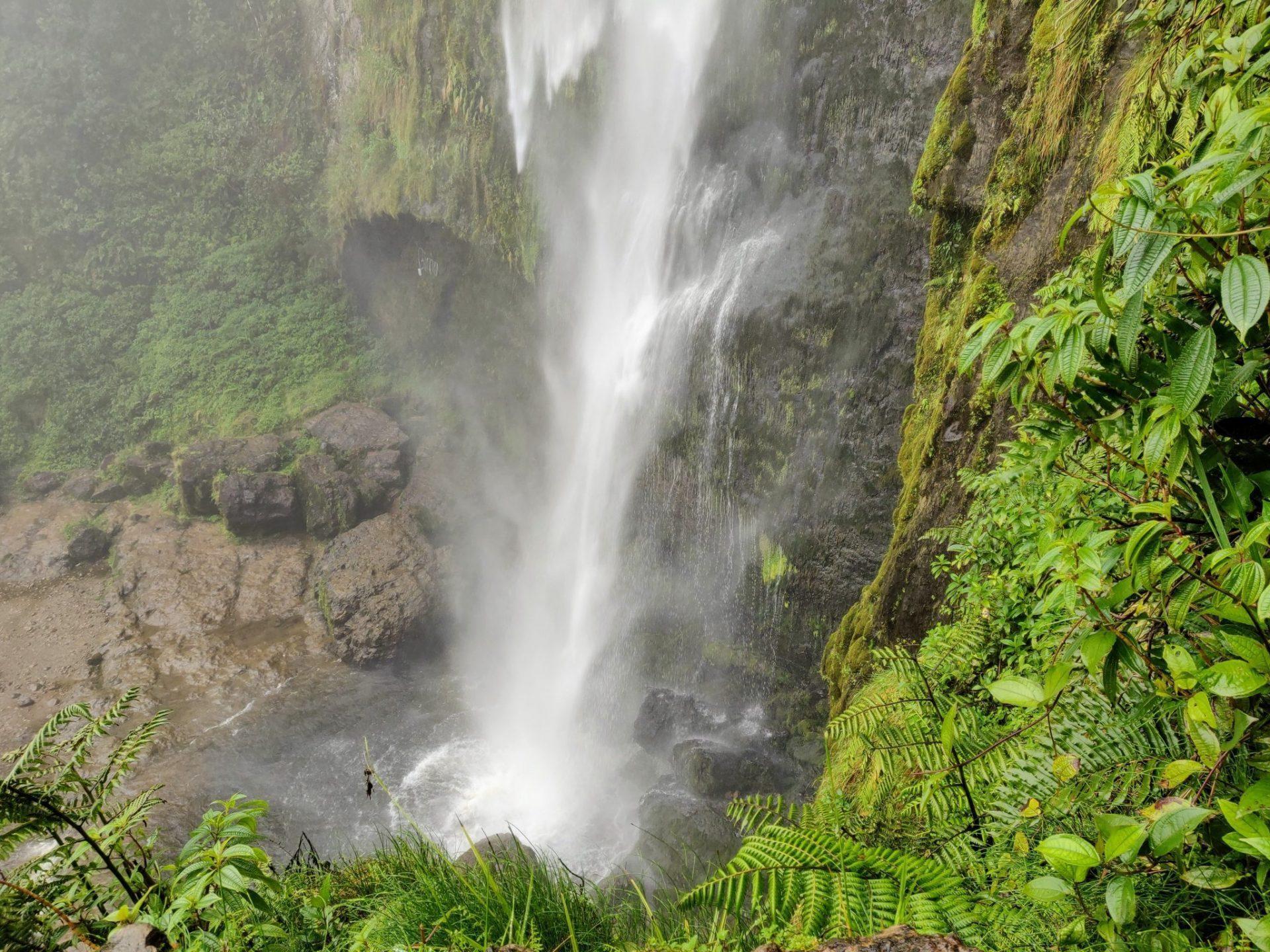 El Chorro de Giron Waterfall near Cuenca