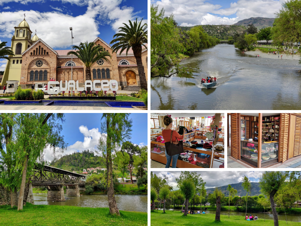Things to do in Gualaceo: see the church, walk covered bridge, shop for crafts, go on boat ride