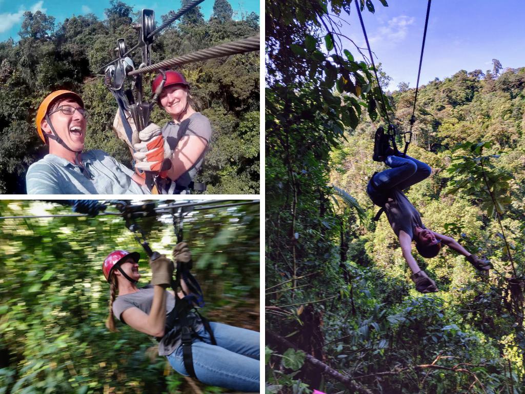 Mindo zipline canopy tour