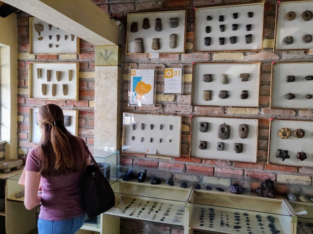 Museo de las Culturas Aborigenes in Cuenca Ecuador