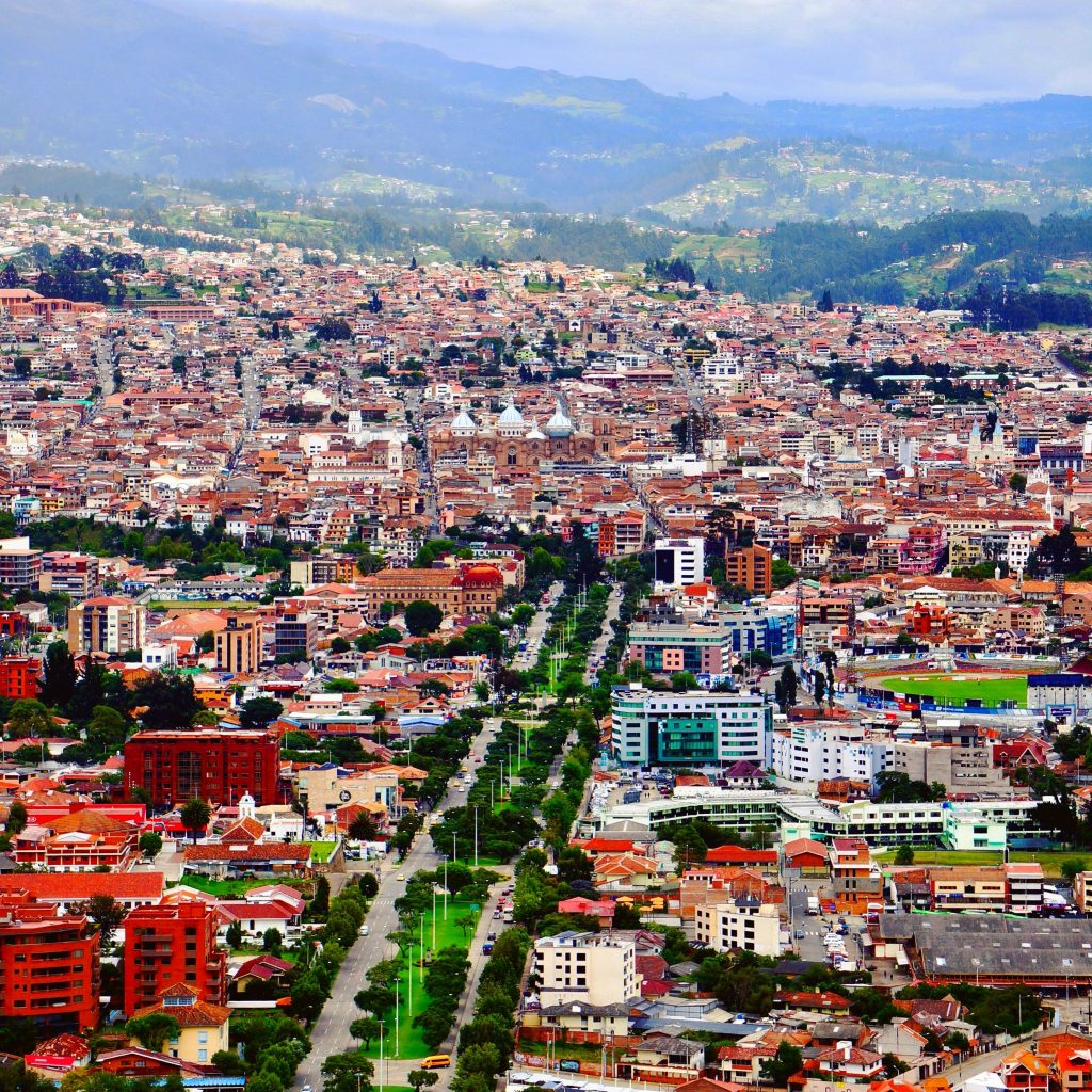 View of Cuenca from Turi Mirador