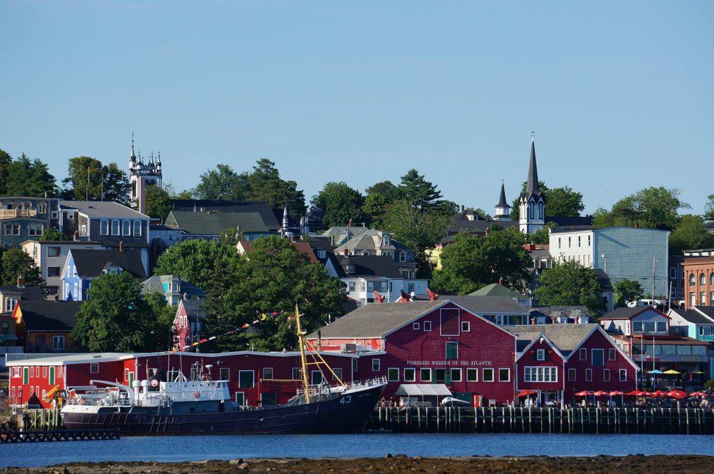 Lunenburg Nova Scotia town