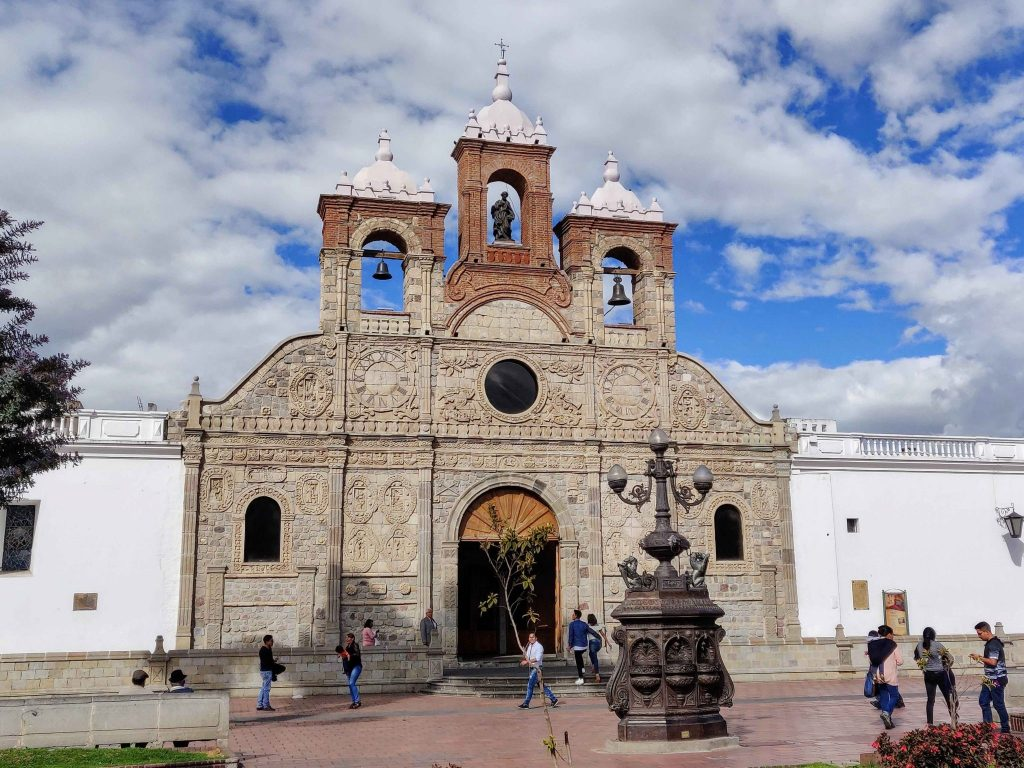 Riobamba Cathedral exterior of the city's Catholic church