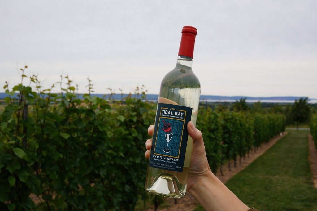 Tidal Bay Wine at Luckett Vineyards