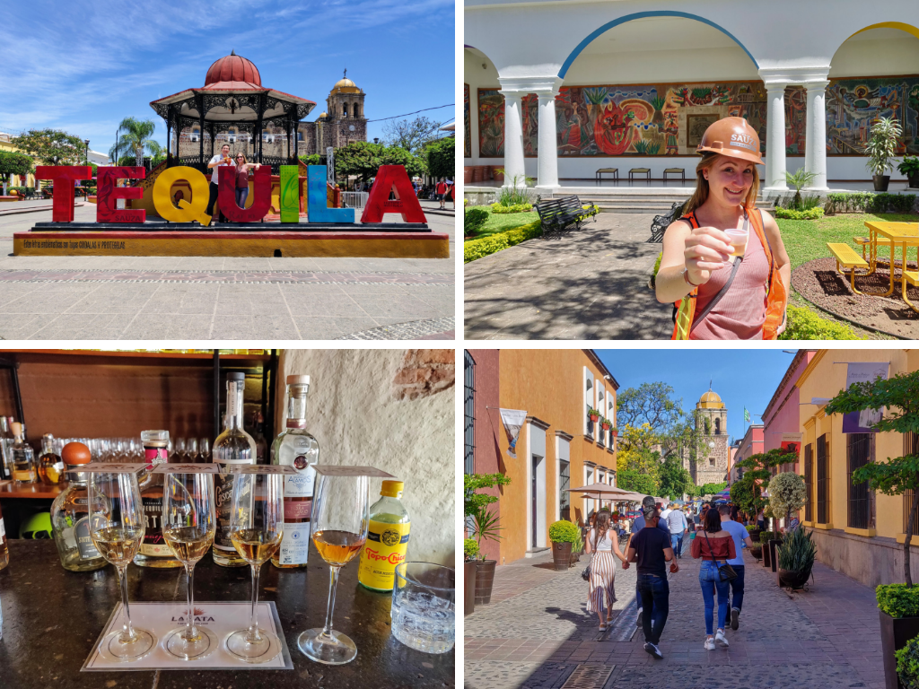 Collage of Tequila Mexico
