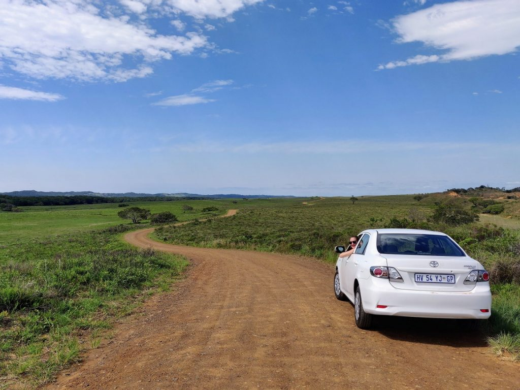 driving across south africa in a rental